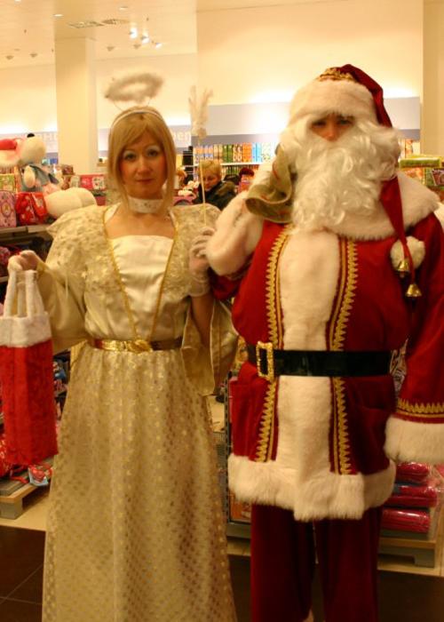 Weihnachtsengel für Karstadt